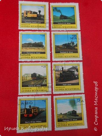 """Сегодня я предлагаю вашему внимани. серию """"Железная дорога"""". Это кубинские марки. фото 22"""