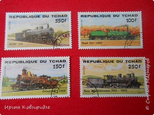 """Сегодня я предлагаю вашему внимани. серию """"Железная дорога"""". Это кубинские марки. фото 5"""