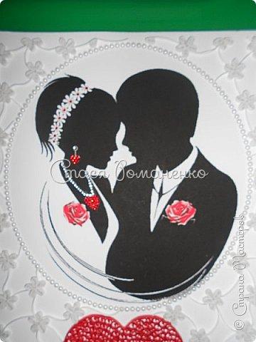 """Дорогие мастерицы представляю Вам работу, которую я делала в подарок мужу на вторую годовщину нашей свадьбы. На """"бумажную"""" свадьбу и подарок из бумаги. Хотелось сделать что-то нежное, воздушное ну и, конечно, памятное. Рамка, правда, пока самая простая, но это временно )) фото 3"""