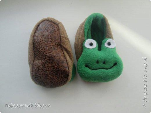 Тапочки детские-лягушата. фото 2