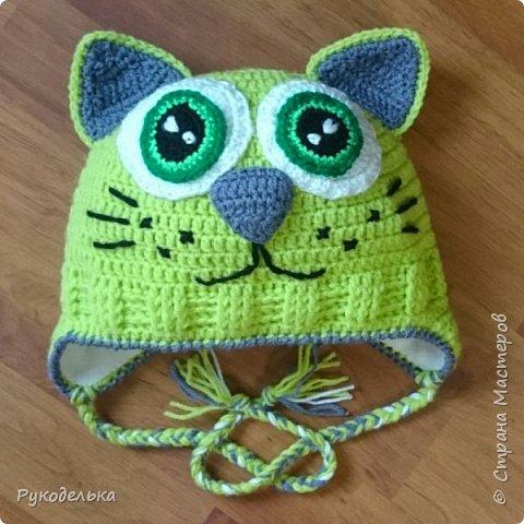 Шапочка Чеширский кот  фото 12