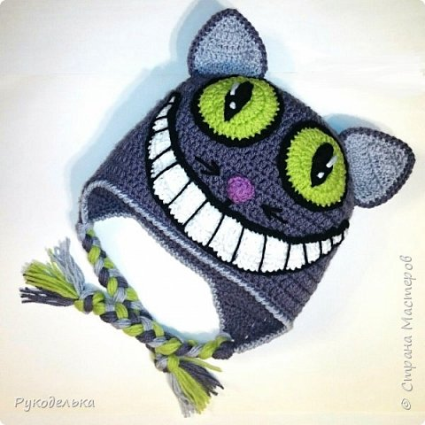 Шапочка Чеширский кот  фото 2