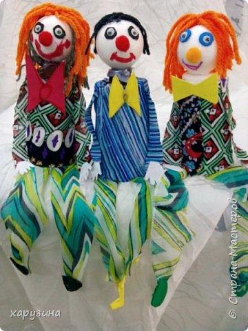 Клоуны- попрыгунчики фото 3