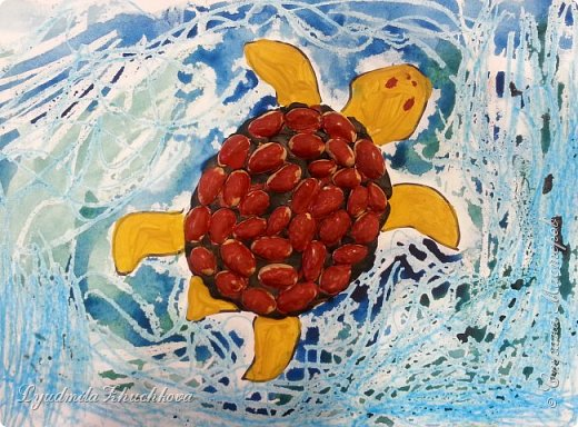 Морская черепаха фото 1