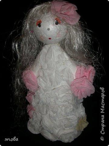 """Предлагаю Вам смастерить куклу""""Милашку"""", мои воспитанники делают таких кукол с большим удовольствием, что характерно у всех они получаются разные. фото 16"""