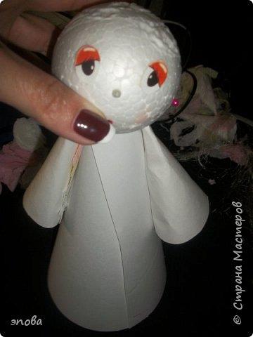 """Предлагаю Вам смастерить куклу""""Милашку"""", мои воспитанники делают таких кукол с большим удовольствием, что характерно у всех они получаются разные. фото 10"""