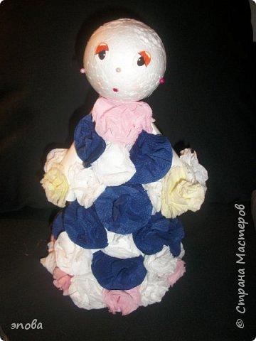 """Предлагаю Вам смастерить куклу""""Милашку"""", мои воспитанники делают таких кукол с большим удовольствием, что характерно у всех они получаются разные. фото 12"""