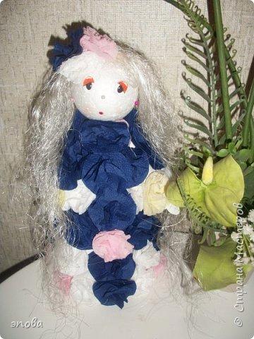 """Предлагаю Вам смастерить куклу""""Милашку"""", мои воспитанники делают таких кукол с большим удовольствием, что характерно у всех они получаются разные. фото 15"""