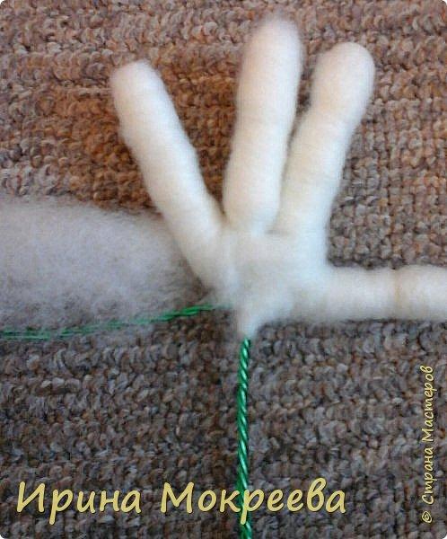 Добрый день жители страны мастеров хочу поделиться моим опытом по изготовлению ручек для капроновых кукол. фото 13