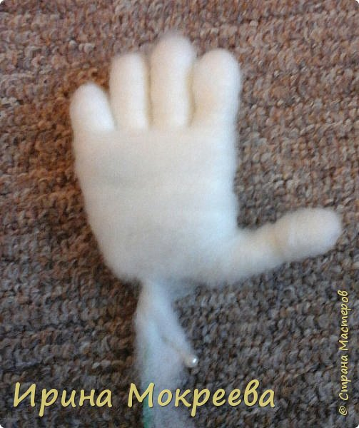 Добрый день жители страны мастеров хочу поделиться моим опытом по изготовлению ручек для капроновых кукол. фото 16