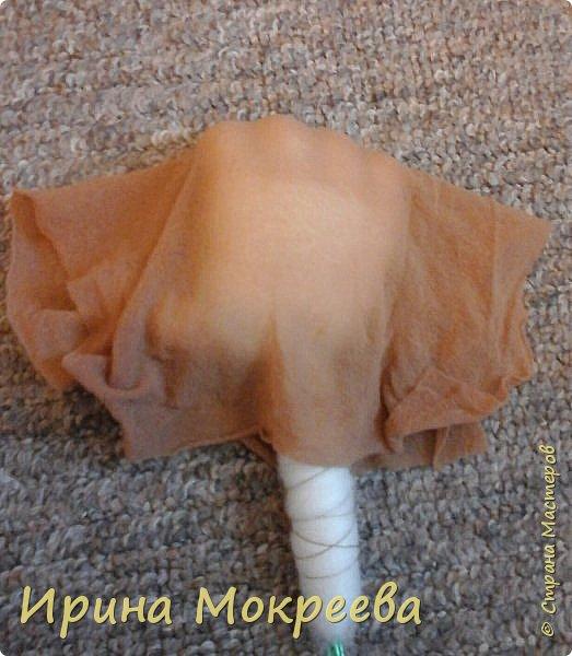 Добрый день жители страны мастеров хочу поделиться моим опытом по изготовлению ручек для капроновых кукол. фото 22