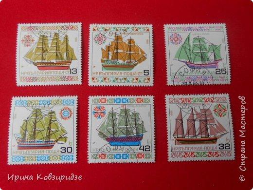 """Теперь перед вами марки """"Корабли"""". Это болгарские марки """"Парусные суда"""" фото 1"""