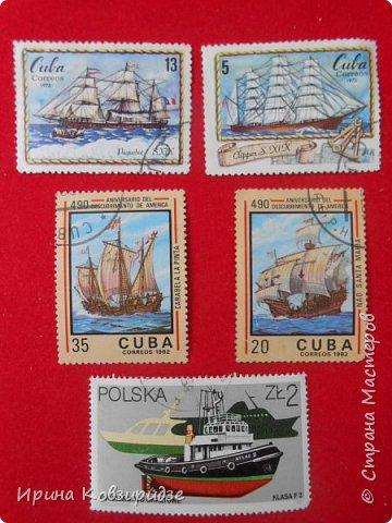 """Теперь перед вами марки """"Корабли"""". Это болгарские марки """"Парусные суда"""" фото 6"""