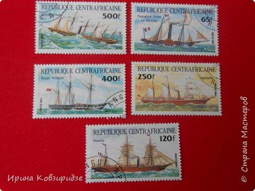 """Теперь перед вами марки """"Корабли"""". Это болгарские марки """"Парусные суда"""" фото 7"""