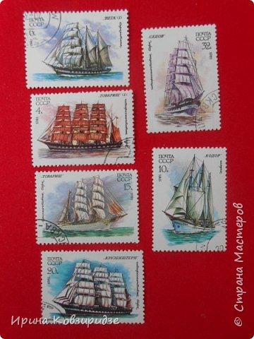 """Теперь перед вами марки """"Корабли"""". Это болгарские марки """"Парусные суда"""" фото 18"""