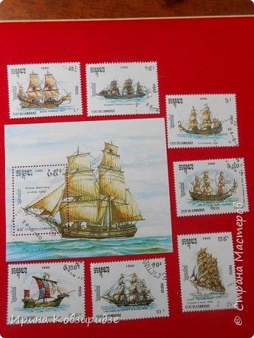 """Теперь перед вами марки """"Корабли"""". Это болгарские марки """"Парусные суда"""" фото 19"""