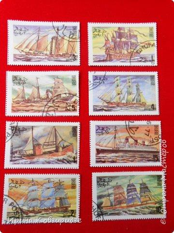 """Теперь перед вами марки """"Корабли"""". Это болгарские марки """"Парусные суда"""" фото 21"""