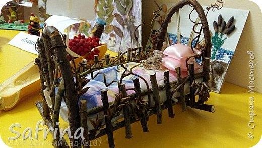 это наша кроватка для феи на выставке в детском саду фото 1