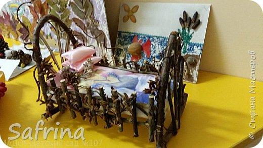 это наша кроватка для феи на выставке в детском саду фото 3