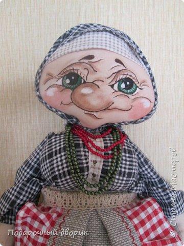 Пакетницыа-Баба Маша. Создана по мотивам и МК Людмилы Набиуллиной. фото 1