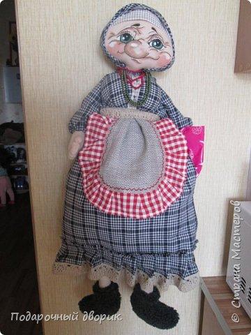 Пакетницыа-Баба Маша. Создана по мотивам и МК Людмилы Набиуллиной. фото 7