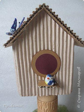 """Вчера позвонила внучка Вика- ей уже 2 года и 7 месяцев, и попросила """"домик для птички в садик"""". А меня если попросить, да еще сказать """"паалуста"""", то я сразу берусь за дело:) фото 2"""