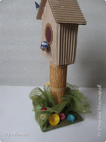 """Вчера позвонила внучка Вика- ей уже 2 года и 7 месяцев, и попросила """"домик для птички в садик"""". А меня если попросить, да еще сказать """"паалуста"""", то я сразу берусь за дело:) фото 4"""