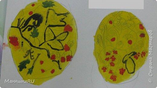 Добро пожаловать на наш мини-мастер-класс по хохломе! Это вовсе не сложно: взять бумагу и сотворить из неё поделку,  похожую на настоящую вещь, а потом расписать красками! фото 7