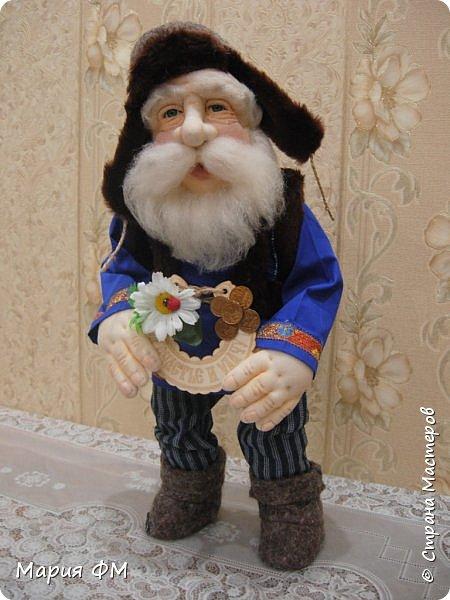 кукла-оберег ДОМОВОЙ ФЕДОТ фото 2