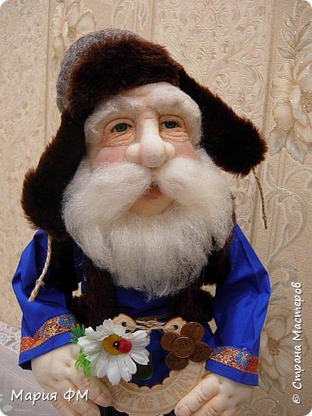 кукла-оберег ДОМОВОЙ ФЕДОТ фото 1