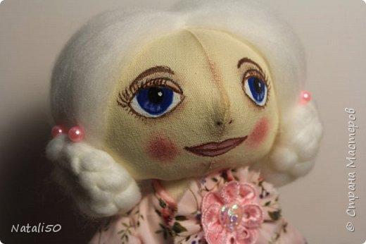 Доброго всем вечера!! Хочу показать вам свою новую куколку Анфису.. Рост куклы 40 см,а зайка - 9 см.  фото 4