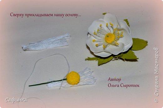 Привет,всем мои дорогие! И снова с вами я,Ольга Сыротюк. Большое количество учениц, задавали вопрос...Как создать красивую серединку для цвета шиповника? Сегодня открою маленький секретик,для тех кто еще не знает, а может только надумывает заняться творчеством! Дорогие мои, вдохновляйтесь и вперед творить вместе со мной..   Шиповник - колючее растение-апотропей, символ здоровья, изобилия, успеха. Шиповник наделяется способностью отвращать, устрашать и используется как оберег от демонов, для нейтрализации вредоносной магии, при лечении болезней. Шиповник называют еще дикой розой. Он известен человеку с глубокой древности. Древние греки связывали дикую розу с богиней красоты и любовного очарования   Шиповник- имеет мифологическое значение красоты, молодости, любви   фото 14