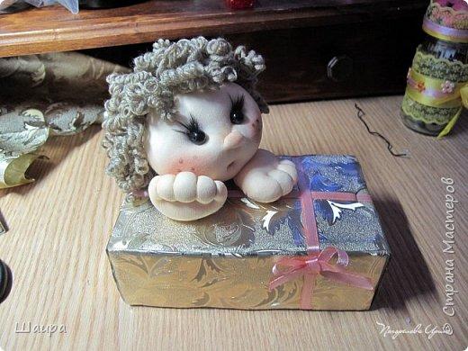 Купидон с подарочной упаковкой фото 14