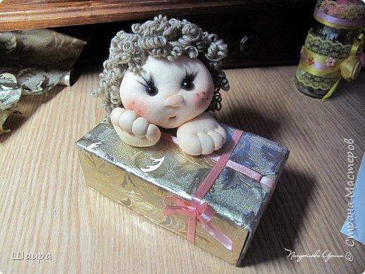 Купидон с подарочной упаковкой фото 15