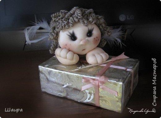 Купидон с подарочной упаковкой фото 17