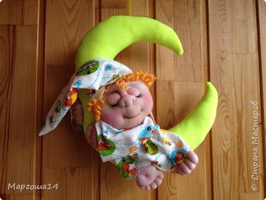 Привет всем!!! Мне очень нравятся работы Елены Володкевич. Сшила несколько куколок Ангелов сна или Сплюшек по её МК для внука и его друзей))) фото 1