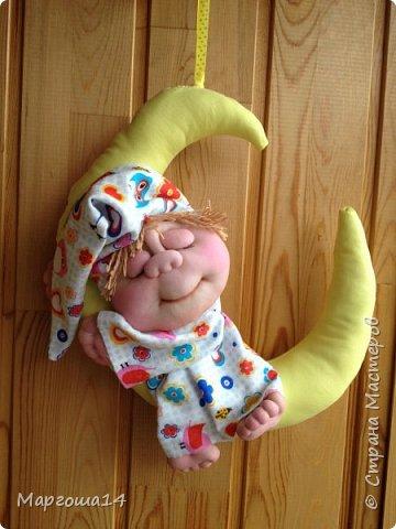 Привет всем!!! Мне очень нравятся работы Елены Володкевич. Сшила несколько куколок Ангелов сна или Сплюшек по её МК для внука и его друзей))) фото 3