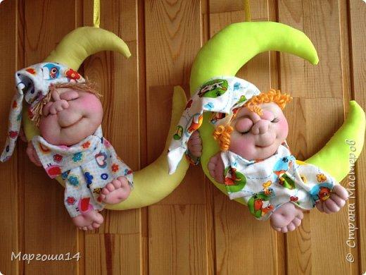 Привет всем!!! Мне очень нравятся работы Елены Володкевич. Сшила несколько куколок Ангелов сна или Сплюшек по её МК для внука и его друзей))) фото 6
