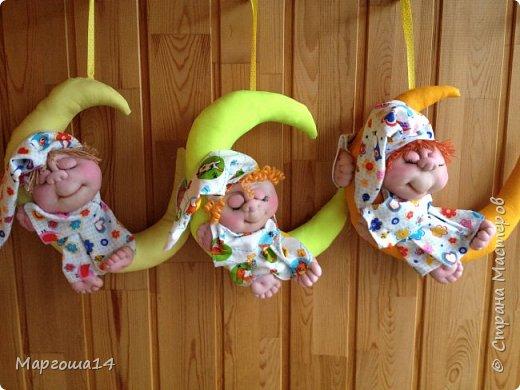 Привет всем!!! Мне очень нравятся работы Елены Володкевич. Сшила несколько куколок Ангелов сна или Сплюшек по её МК для внука и его друзей))) фото 7
