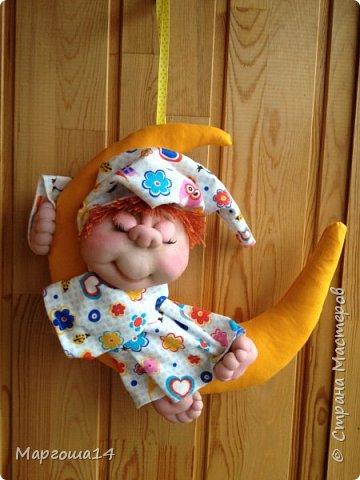 Привет всем!!! Мне очень нравятся работы Елены Володкевич. Сшила несколько куколок Ангелов сна или Сплюшек по её МК для внука и его друзей))) фото 5