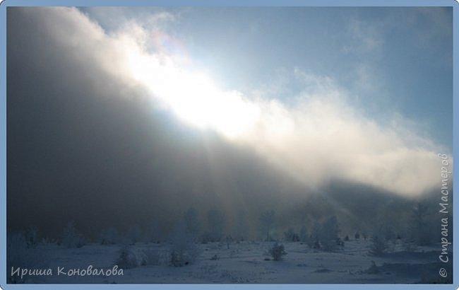 Все фотографии сделаны мною в начале января не помню точно какого года в Амурской области в г. Зея.. Там обычно, до начала ветров, до февраля, царствует такая красота. Основные фото сделаны на берегу реки Зея. Она, убегая от Зейской ГЭС,  долго не замерзает, что и дает возможность любоваться чудными пейзажами.   фото 4