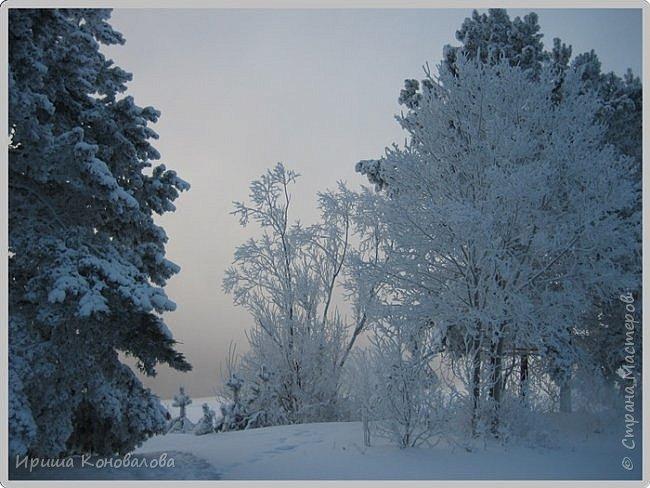 Все фотографии сделаны мною в начале января не помню точно какого года в Амурской области в г. Зея.. Там обычно, до начала ветров, до февраля, царствует такая красота. Основные фото сделаны на берегу реки Зея. Она, убегая от Зейской ГЭС,  долго не замерзает, что и дает возможность любоваться чудными пейзажами.   фото 1