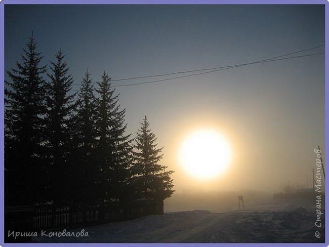 Все фотографии сделаны мною в начале января не помню точно какого года в Амурской области в г. Зея.. Там обычно, до начала ветров, до февраля, царствует такая красота. Основные фото сделаны на берегу реки Зея. Она, убегая от Зейской ГЭС,  долго не замерзает, что и дает возможность любоваться чудными пейзажами.   фото 29
