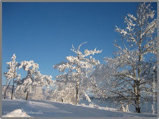 Все фотографии сделаны мною в начале января не помню точно какого года в Амурской области в г. Зея.. Там обычно, до начала ветров, до февраля, царствует такая красота. Основные фото сделаны на берегу реки Зея. Она, убегая от Зейской ГЭС,  долго не замерзает, что и дает возможность любоваться чудными пейзажами.   фото 18
