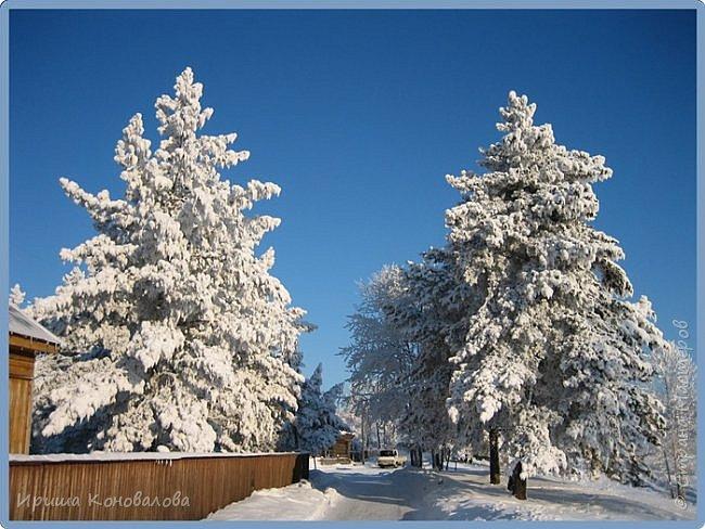 Все фотографии сделаны мною в начале января не помню точно какого года в Амурской области в г. Зея.. Там обычно, до начала ветров, до февраля, царствует такая красота. Основные фото сделаны на берегу реки Зея. Она, убегая от Зейской ГЭС,  долго не замерзает, что и дает возможность любоваться чудными пейзажами.   фото 20