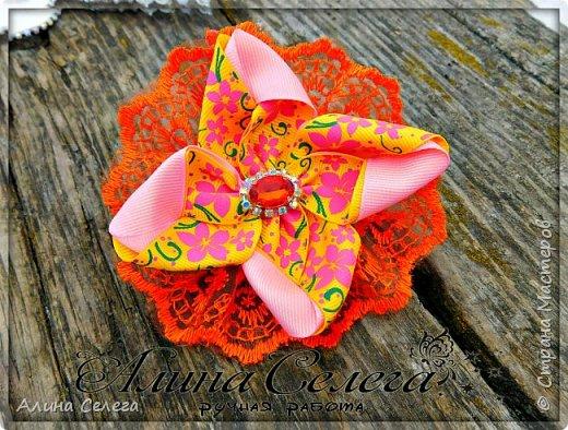 МК сказочный цветок / МК Алина Селега  фото 3