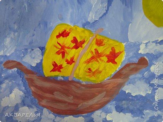 Мы рисуем корабли! (возраст юных художников 7-8 лет) фото 4