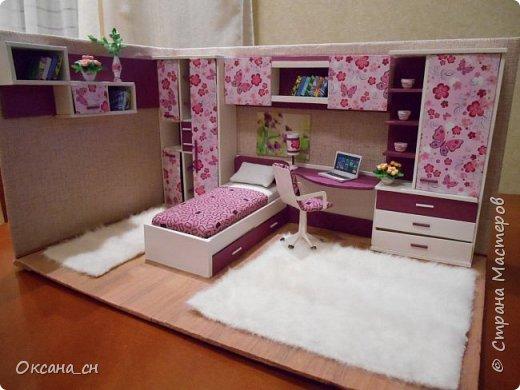 Всем привет! Сегодня я к вам с той же мебелью, что и в прошлый раз, только немного доделанной и приукрашенной.    фото 1