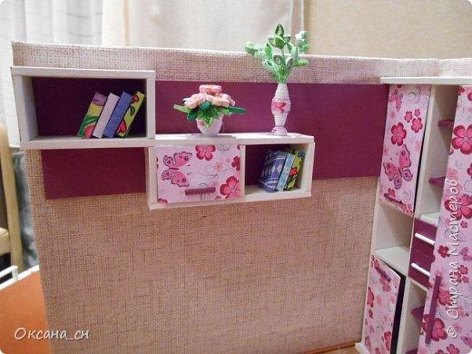 Всем привет! Сегодня я к вам с той же мебелью, что и в прошлый раз, только немного доделанной и приукрашенной.    фото 2