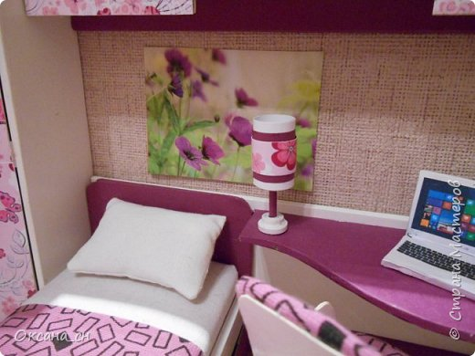 Всем привет! Сегодня я к вам с той же мебелью, что и в прошлый раз, только немного доделанной и приукрашенной.    фото 10